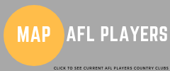 AFL Players map